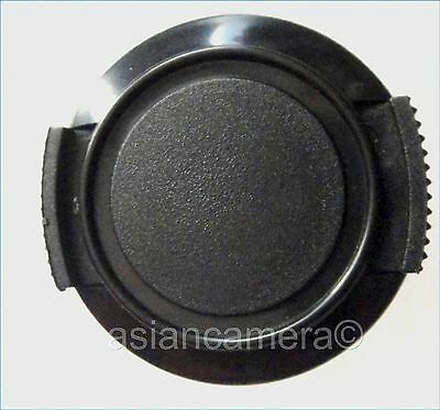 Front Lens Cap For Sony DCR-DVD808E DCR-DVD908E Keeper Cord Snap-on Glass Cover