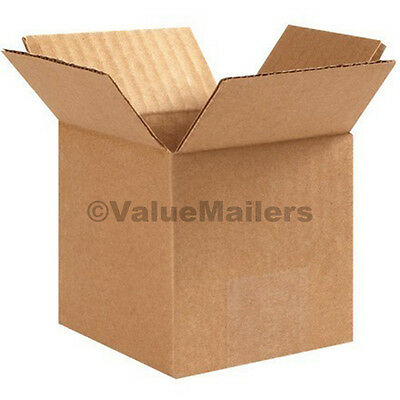 200 4x4x4 Cardboard Packing Moving Shipping Boxes Corrugated Box Cartons 100 %