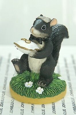 The Ring Bearer~Charming Tail Retired~New~In Original Box~Free Us Shipping~