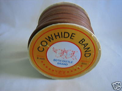 """25Ft Leather Treadle Belt For Sewing Machine~5/16"""""""