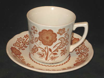 J & G MEAKIN - WOBURN - CUP AND SAUCER SET