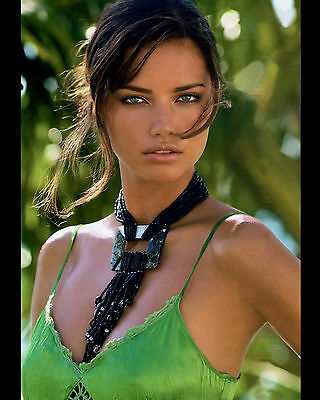 Adriana Lima 8X10 Photo Picture Pic Hot Sexy Beautiful Close Up Tiny Top 15