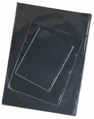 25 A4 Portfolio Sleeves - Glass Clear - Acid Free