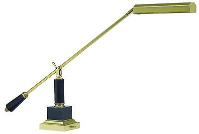 New Balance Arm Piano Lamp- Brass & Marble (P10-190-M)