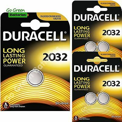 5 x Duracell CR2032 3V Lithium Coin Cell Battery 2032, DL2032, BR2032, SB-T15
