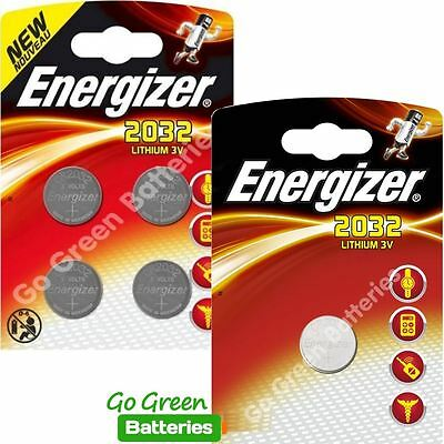 5 x Energizer CR2032 3V Lithium Coin Cell Battery 2032, DL2032, BR2032, SB-T15