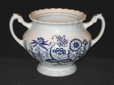 J & G MEAKIN - BLUE NORDIC - SUGAR BOWL NO LID