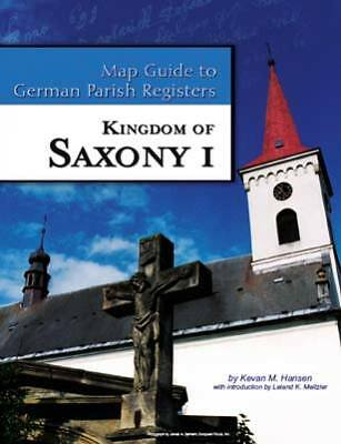 Saxony I Map Guide to German Parish Registers