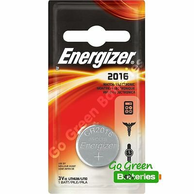 1 x Energizer CR2016 3V Lithium Coin Cell Battery 2016
