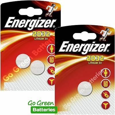 3 x Energizer CR2032 3V Lithium Coin Cell Battery 2032, DL2032, BR2032, SB-T15