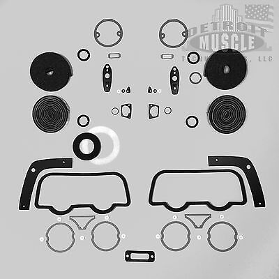 DMT Mopar B Body 1968 68 Dodge Charger Exterior Paint Gasket Set Seals Taillight