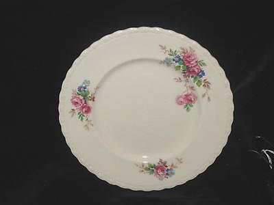 MYOTT - JUNE ROSES - SALAD PLATE crazing / scratches - 44H