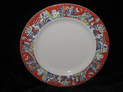 SYRACUSE USA 30-D - RED BAND CHOP PLATTER