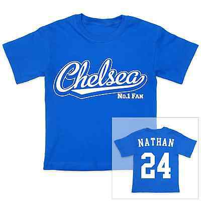 CHELSEA Football Personalised Baby/Child T-Shirt
