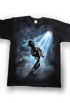 Airbrushed Flugelhorn  T-Shirt in sizes Small to 3XXXL