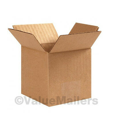 100 5x5x5 PACKING SHIPPING CORRUGATED CARTON BOXES