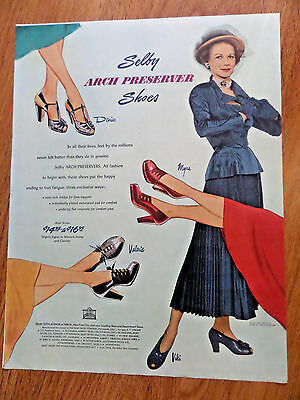 1948 Shelby Arch Preserver Shoes Ad