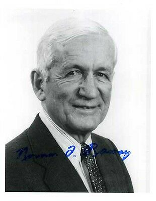 Norman Foster Jr. Ramsey Autogramm NP PH 1989 signed