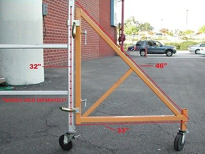 4 WIDE Scaffolding Outriggers aka for MFS Perry Baker Tower Safety Supporting