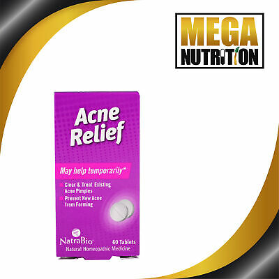 Homeopathic Acne Relief Formula, x60tabs;- VERY EFFECTIVE!!!