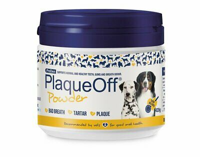 PlaqueOff™ Animal 420g Tartar & Plaque off removal dental Dog Cat