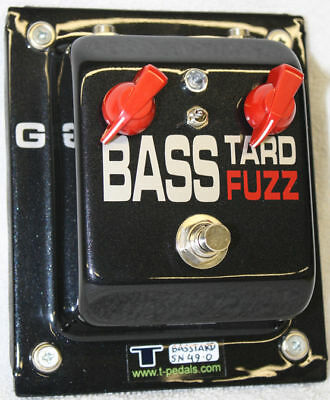 T-Pedals Basstard Fuzz Thunder Bass Pedal Made In Italy