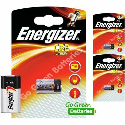3 x Energizer CR2 3v Lithium Photo Battery DLCR2
