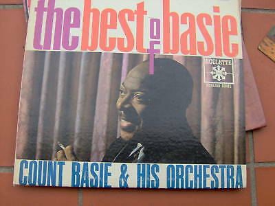 Lp The Best Of Basie - Count Basie Roulette Usa N/Mint