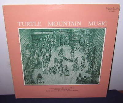 1984 Turtle Mountain ND Music 2 Record LP Indian