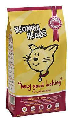 Meowing Heads Hey Good Looking Chicken Dry Cat Food 250g