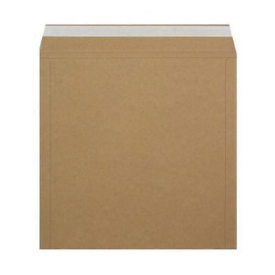 "50 12"" 'Peel & Seal' Ebay Strongest Brown All Board Record Mailers +Free 24H"