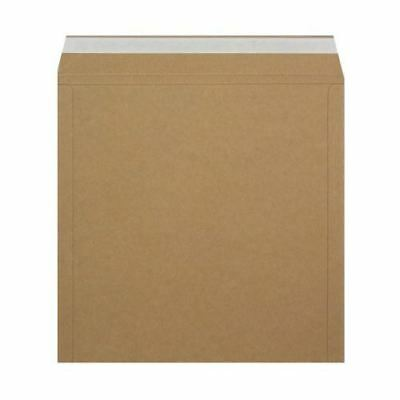 """50 12"""" 'peel & Seal' Ebay Strongest Brown All Board Record Mailers +Free 24H"""