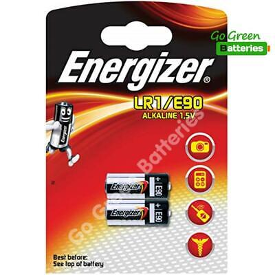 2 x Energizer LR1 MN9100 1.5V Alkaline Battery E90 AM5