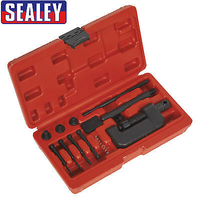 Sealey Motorcycle Motorbike Drive/Cam Chain Breaker/Splitter & Riveter Kit VS779