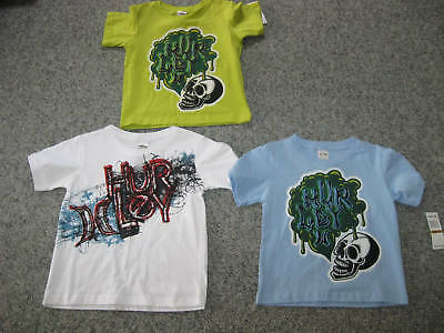 HURLEY Toddler Boys T-Shirts, 3,4,or 5T, NWT,All Sizes&Color,MSRP-$!6-20