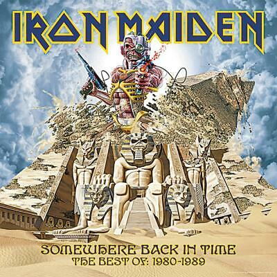 IRON MAIDEN - SOMEWHERE BACK IN TIME CD 80's HITS *NEW*