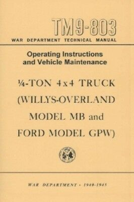 JEEP-Ford GPW 1940-1945 Operation & Maintenance Manual