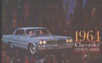 CHEVROLET 1964 Car Owner's Manual 64 Chevy