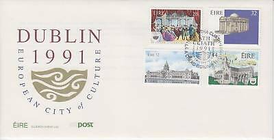 Ireland-1991-Culture- First  Day Cover