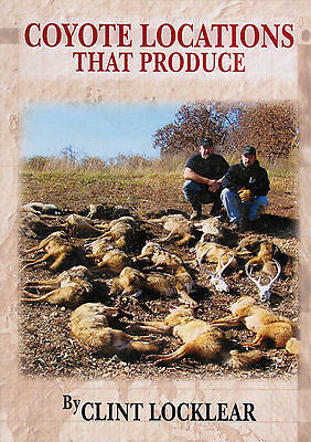 DVD-Locklear-COYOTE LOCATIONS THAT PRODUCE, traps trapping