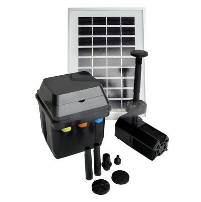 3W 3 W Solar Water Well Pump Fountain BATTERY LED Timer