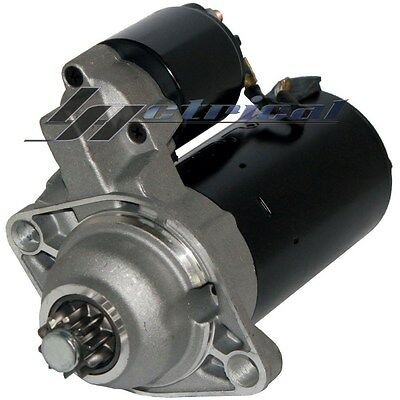 100% NEW STARTER FOR VW DIESEL TDI 1.9L MANUAL/TRANS. HIGH 2.0Kw*ONE YR WARRANTY