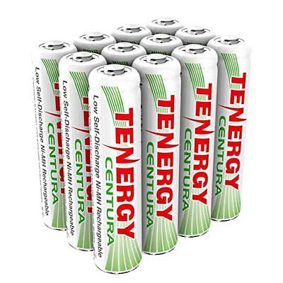 Tenergy 12PCS Centura AAA 800mAh Low Self Discharge NiMH Rechargeable Batteries