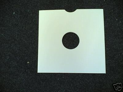 """50 10"""" Card Replacement White Record Sleeves *new*"""