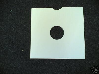"""100 10"""" Card Replacement White Record Sleeves *new*"""