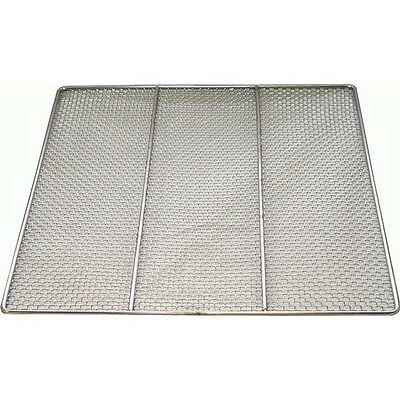 "Stainless Steel Donut Frying Screens 19"" x 19"" DN-FS19"