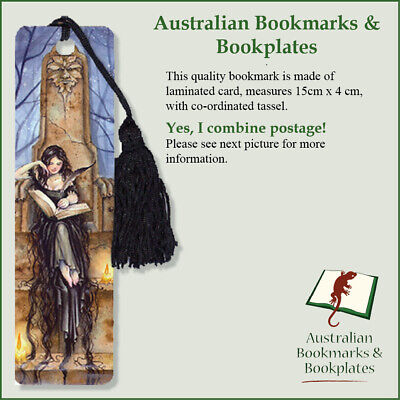 """Storykeeper"" fairy bookmark with tassel"