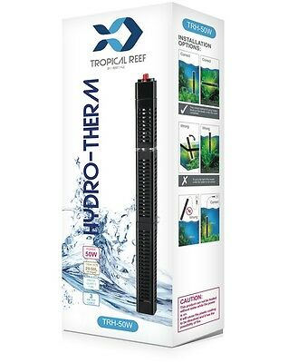 Hydro-Therm 500W Heater Stat Aquarium Fish Pond Tank Temp Submersible Guard