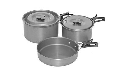 Trakker NEW Armo Life Carp Fishing 3 Piece Cookware Set Armolife - 211200