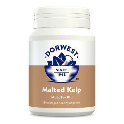 Dorwest Herbs Malted Kelp 100 tablets Dog Cat supplement Appetite